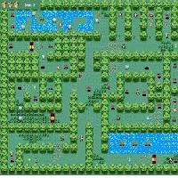 Screenshot van het spel dat met de hoofdprijs bekroond is