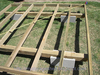 how to build a storage shed: step 1 building the storage shed