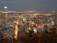 Montreal desde el mirador sur del Monte Royal