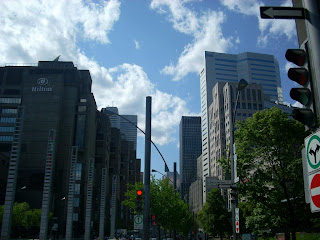 Entrada sur a la city de Montreal