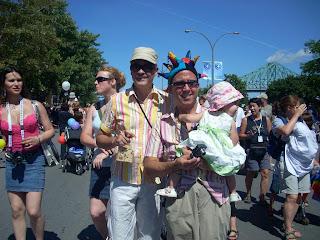 Padres de un mismo sexo con sus hijos