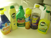 Muestra de líquidos de limpieza de Canadá