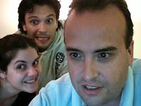 Con Adrian y Romi buscando en los archivos