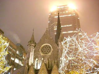 Christ Church Catedral, cede de la diócesis Anglicana en Montreal
