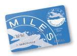 Ejemplo de la tarjeta de puntos Air Miles