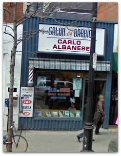 Para hombres la peluquería de Don Carlo, foto cortesía Google Streets