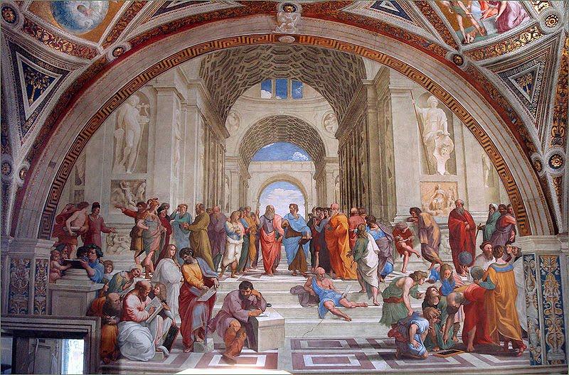 The School of Athens, 1509, Raphael Sanzio