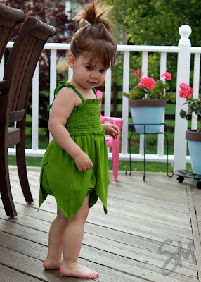 Fairy Romper by Little Pink Monster