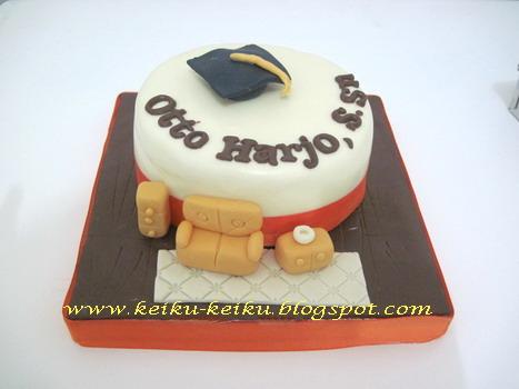 Keiku Cake: Interior design Graduation