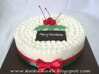 Keiku Cake Christmas cake 2010 fresh cake