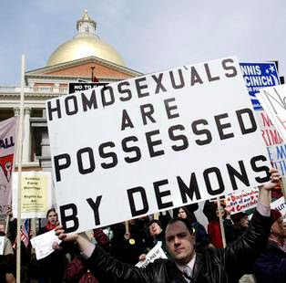 Homosexual equality thesis Statement?