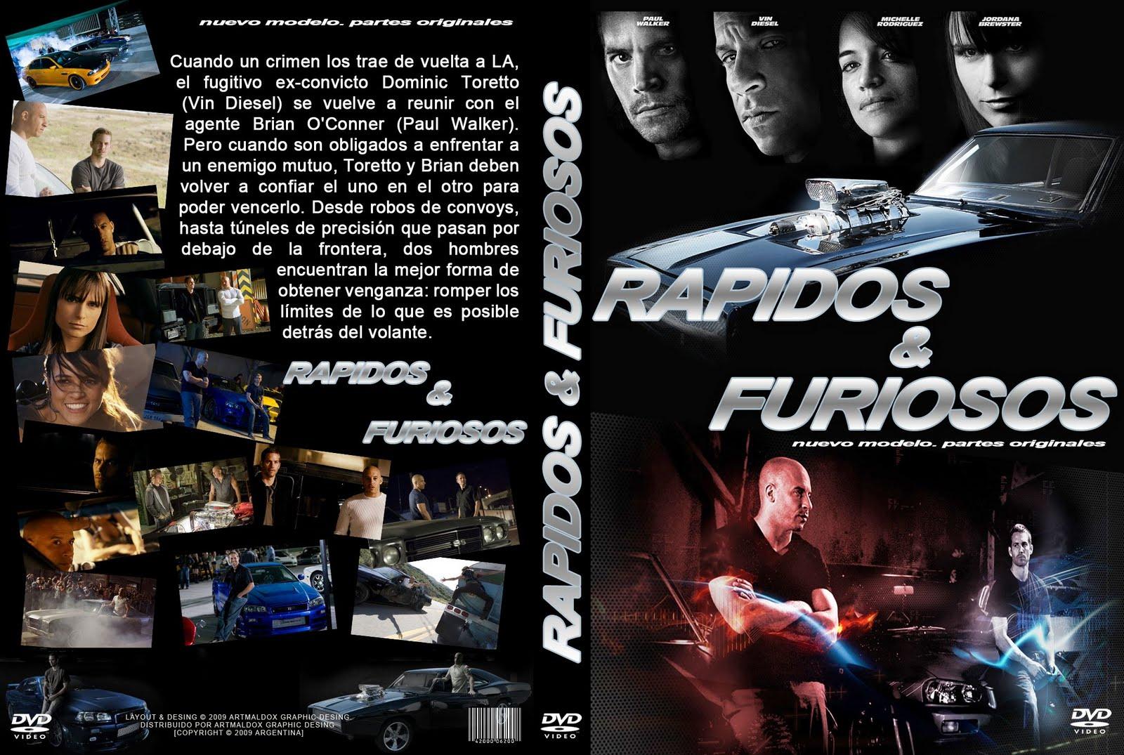 Más Rápido Y Más Furioso 4 DVDrip HD Latino 1 link