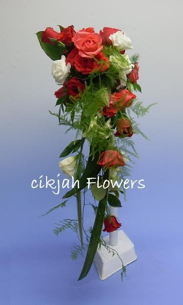 Wedding Bouquets Fresh Flowers : Cikjah flowers fresh bridal bouquets