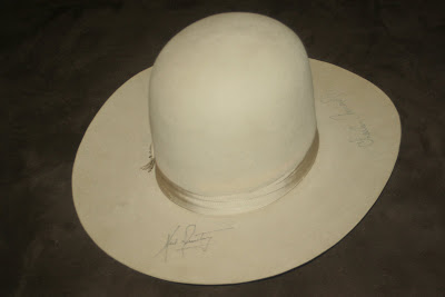 My space artifact collection lbj stetson beaver 3x hat signed by lbj stetson beaver 3x hat signed by astronauts for houston legislator publicscrutiny Image collections
