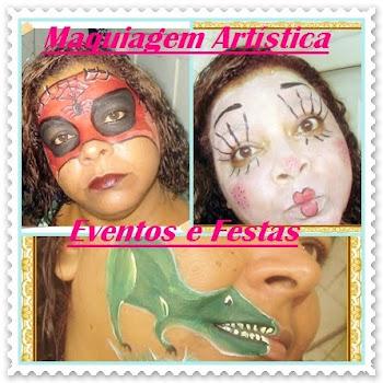 Maquiagem Artística Eventos e Festas