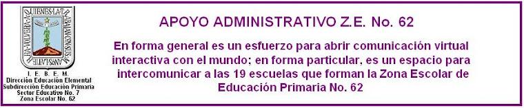 Apoyo Administrativo 62