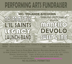 PERFORMING ARTS FUNDRAISER - Friday 26 September @ 7.30pm