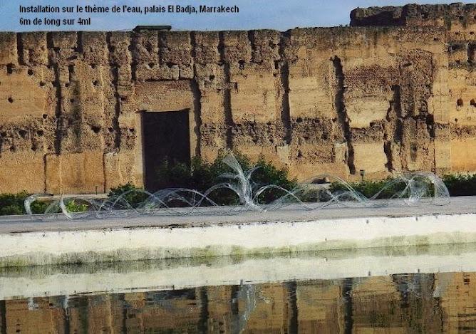 Installation palais El Badja Maroc