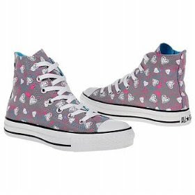 7e4eb19a2a8bd9 Keep your outfits fun and creative with the Converse All Star Print Hi-top  sneakers. Canvas upper in a casual high-top basketball sneaker style with a  round ...