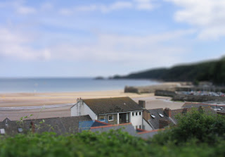 My first attempt at fake tilt shifting