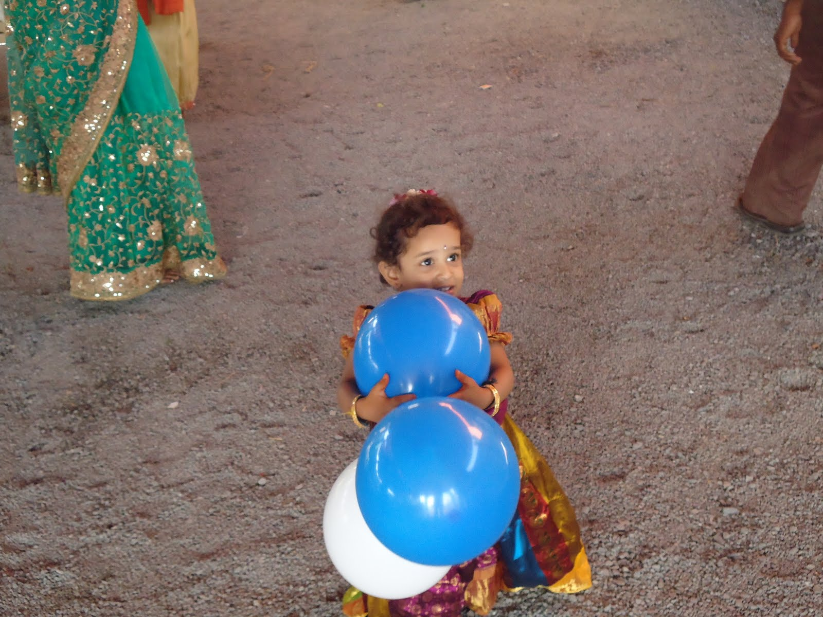 Charvitha gogineni me on annaprasana for Annaprasana decoration