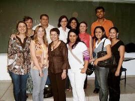 Palestra com a secretária municipal de Assistência Social Itaciana Pires Santiago
