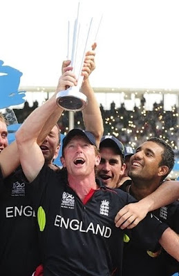 England Won the T20 World Cup 2010