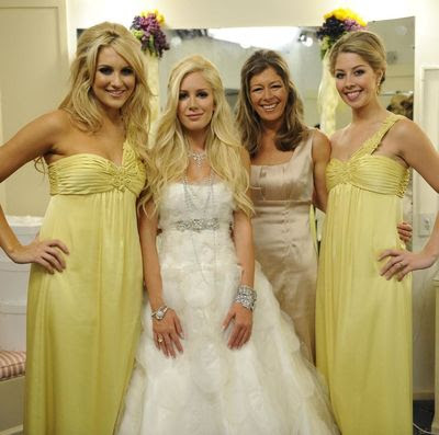 Stephanie Pratt, Heidi Montag, Mrs. Montag, and Holly Montag