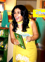 Raveena Tandon at the Tinker Bell book reading session