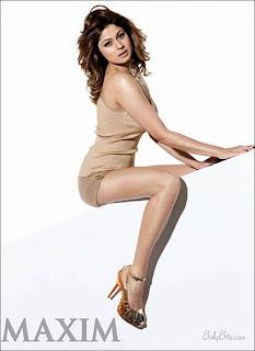 Shamita Shetty sizzles on Maxim India - June 2009