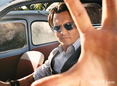 Johnny Depp Covers Vanity Fair July 2009