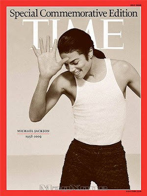 Michael Jackson Time Magazine July 2009