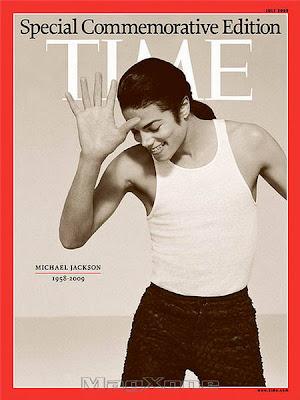 Michael Jackson Time Magazine July 2009
