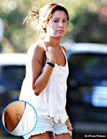 Ashley Tisdale Shows Off New Tattoo