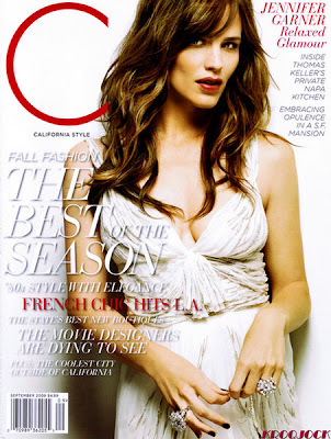Jennifer Garner California Style Magazine September 2009
