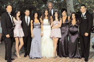 The Kardashian Christmas Card Photos