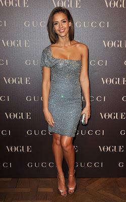 Jessica Alba and Diane Kruger at the Vogue Paris Dinner