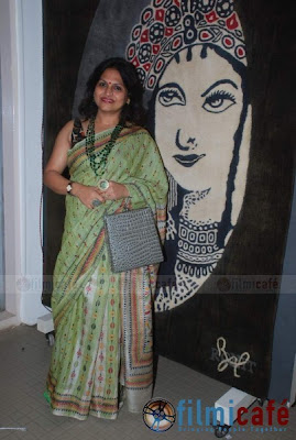 Milind Soman & Maneka Gandhi At Group Art Show Hosted By Sunil Sethi