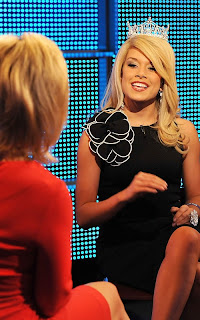 Miss America Teresa Scanlan visiting FOX and Friends