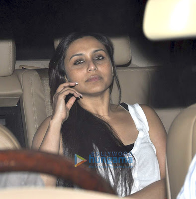 Aamir, Rani, Sonakshi and Madhuri watch 'Dhobi Ghat'