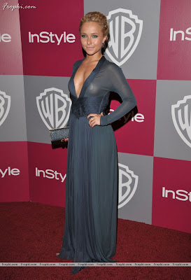 Hayden Panettiere pose on red carpet with her inner wear