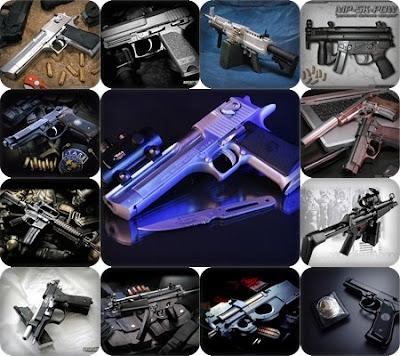 Para os militares e os apaixonados por armas de fogo, vai este pacote.