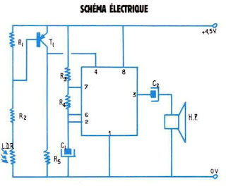 schema de detecteur electronique de lumiere arduino schema electronique a base de ne 555. Black Bedroom Furniture Sets. Home Design Ideas