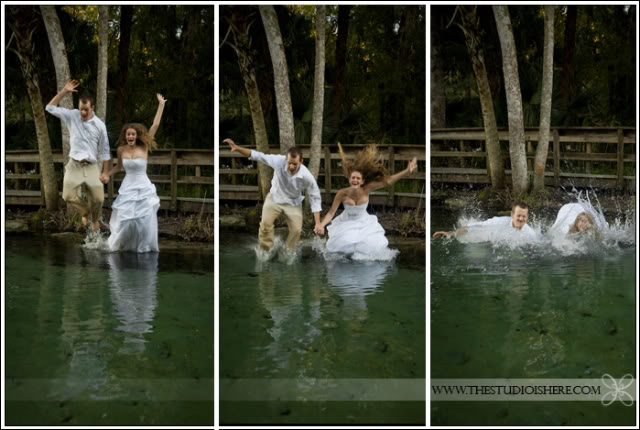 "Newlyweds Next Door: More ""Trash The Dress"" Pictures"