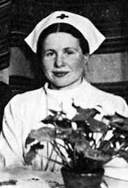 Irena Sendler as a nurse
