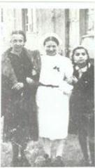 Irena Sendler in nurses outfit.
