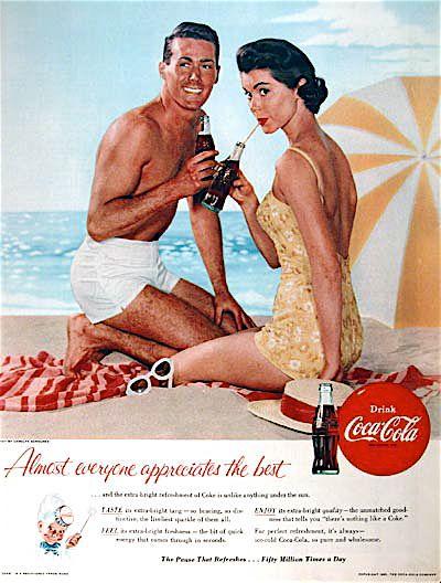 Coca Cola bikini ad