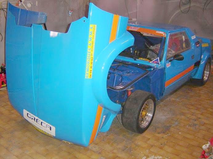 très accéssible bloc av démontable  MC Racing