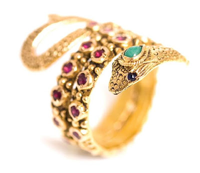 Currently Obsessed With: Serpent Rings