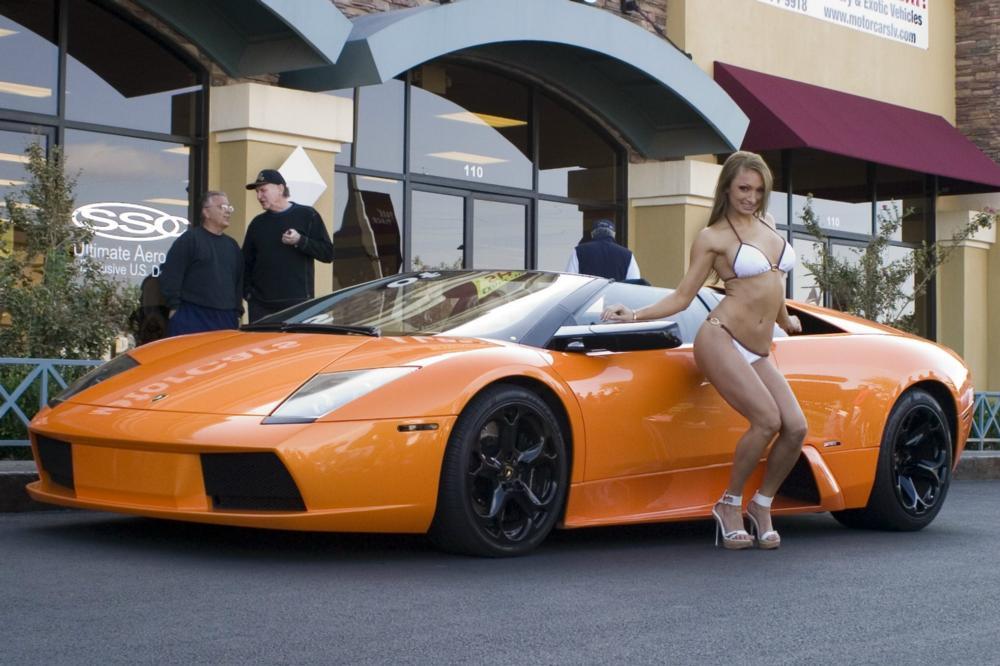 hot cars hot girls